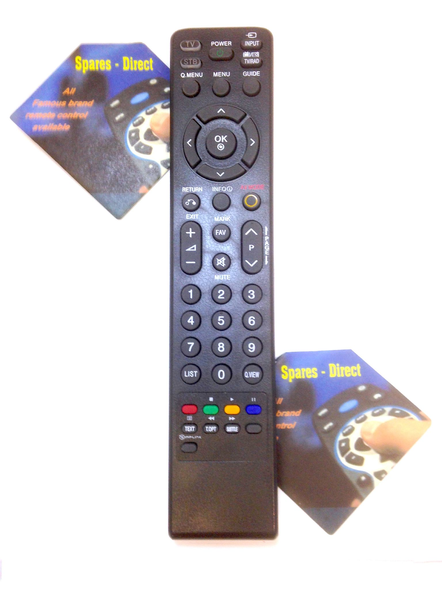 LG Replacement TV Remote Control For 42LC46 42LC55 42LF65 42LF66 42LF75
